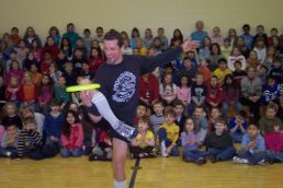 Frisbee Show: School Assembly